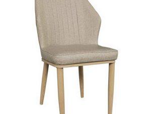 Καρέκλα Delux ΕΜ156,2 49x51x89cm Natural-Beige