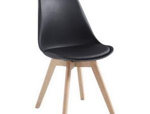 Καρέκλα Martin ΕΜ136,20W 48x56x82cm Black