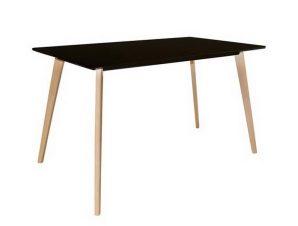 Τραπέζι Martin Ε7101,2 120×70 H.75cm Natural-Black