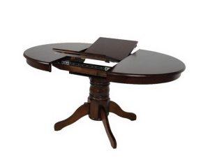Τραπέζι Επεκτεινόμενο Nirvana Ε7680,2 D.106 +30x75cm Walnut