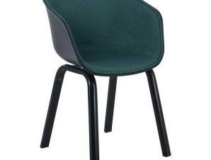 Πολυθρόνα Optim ΕΜ140Β,3F 54x51x79cm Black Green