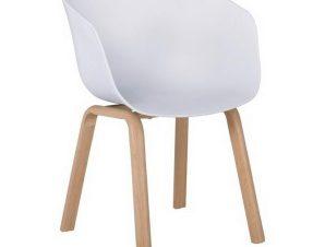 Πολυθρόνα Optim ΕΜ140,1Μ 54x51x79cm Natural-White