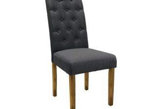 Καρέκλα Wendy Ε7701,2 46x61x100cm Natural-Grey
